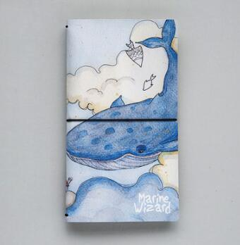 Whale Notebook - Crateen