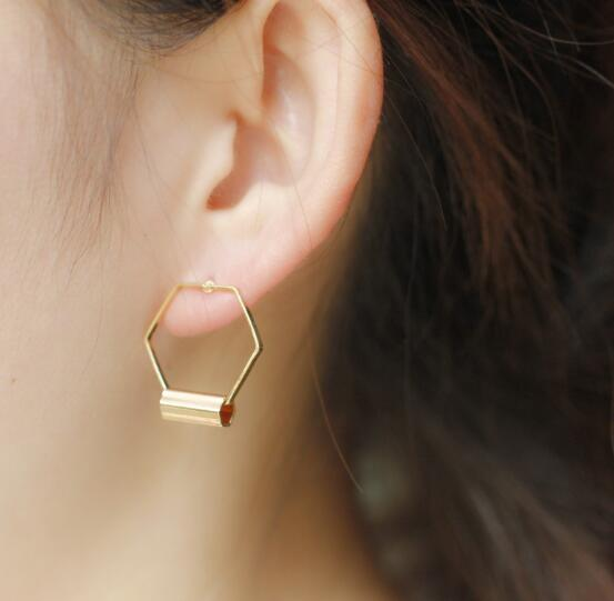New Style Golden Earrings for women