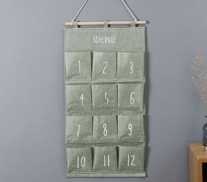 Number Hanger Bag - Crateen