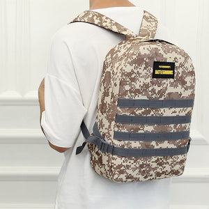 Camouflage Printed Large Space Backpack