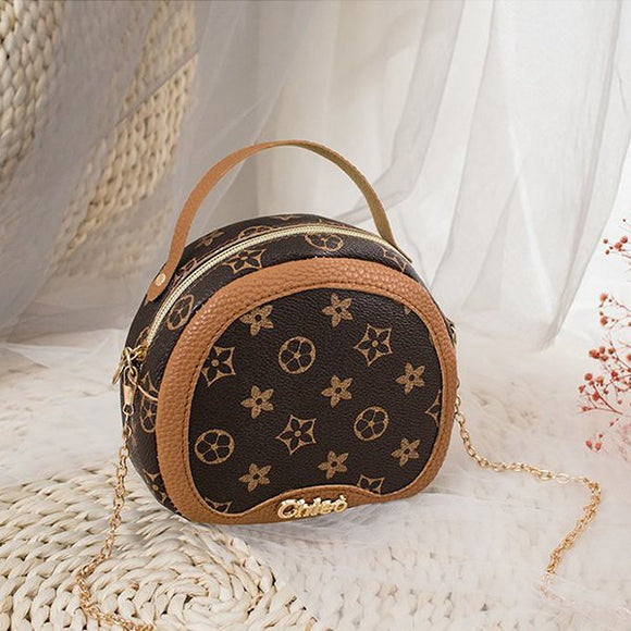 Chain Strap Round Shape Designers Bag