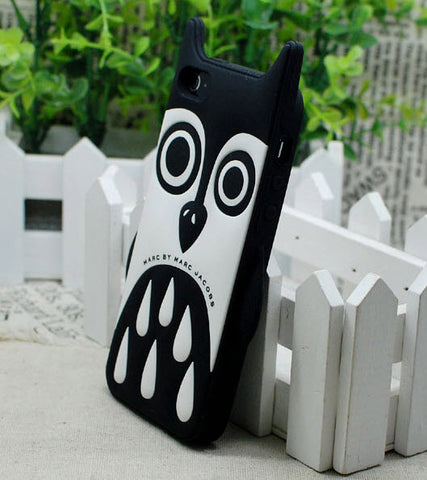 Black owl iPhone 6 Cover
