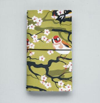 Flowers Bird Notebook - Crateen