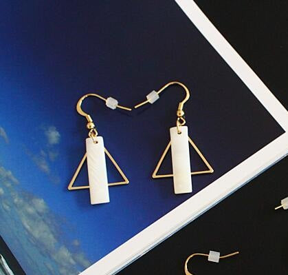 Square New Fashion Earrings - Crateen