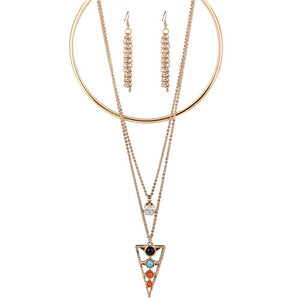 triangle Shape Necklaces - Crateen