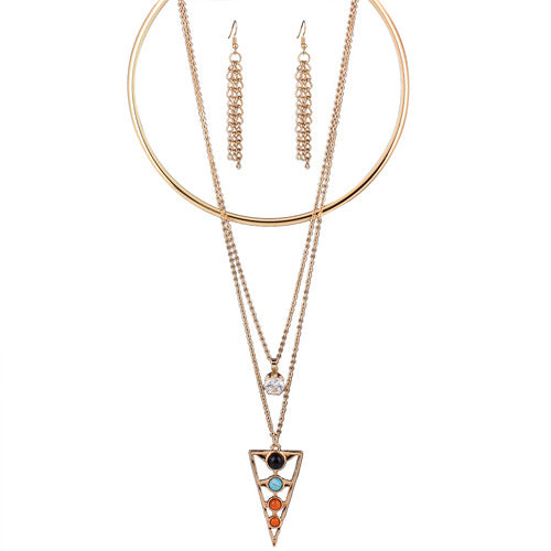 triangle Shape Necklaces