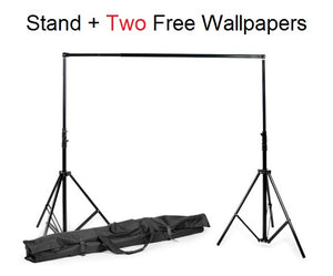 Background Stand With Two FREE Wallpapers - Crateen