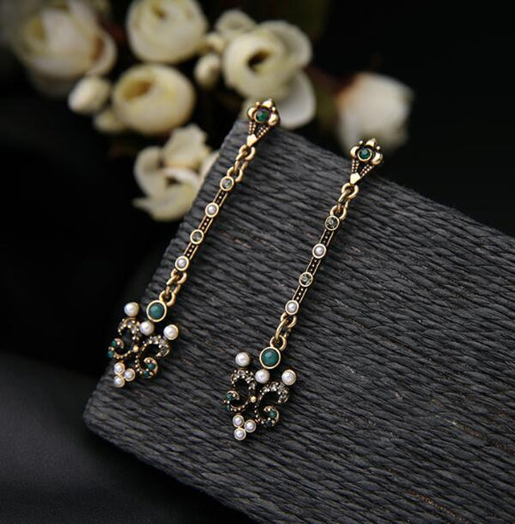 Fashion Long Earrings - Crateen