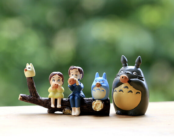 Totoro Friends Anime - Crateen