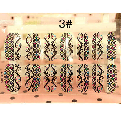Nail Stickers Style 103 - Crateen