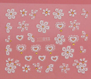 Nail Stickers Style 15 - Crateen