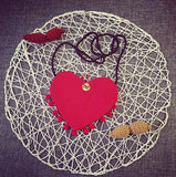 Red Heart Handbags