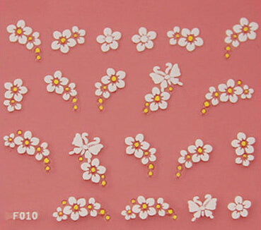 Nail Stickers Style 5 - Crateen