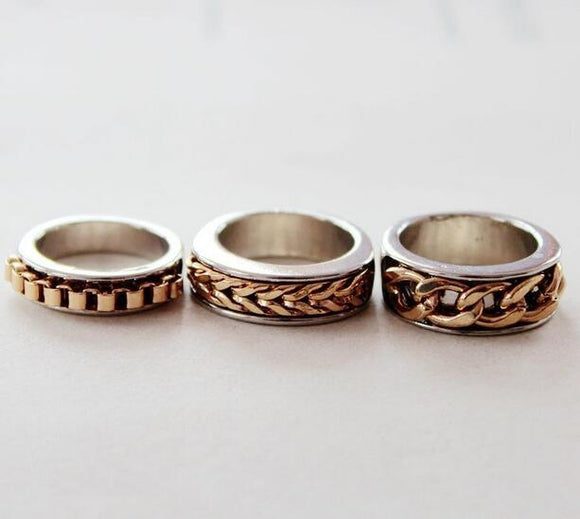 Three Cute Rings - Crateen