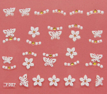 Nail Stickers Style 6 - Crateen