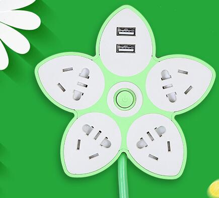 Electricity Rose Socket + USB - Crateen