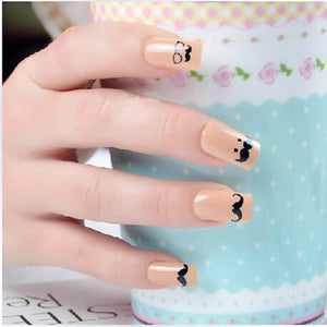 Diaper Nails Stickers - Crateen