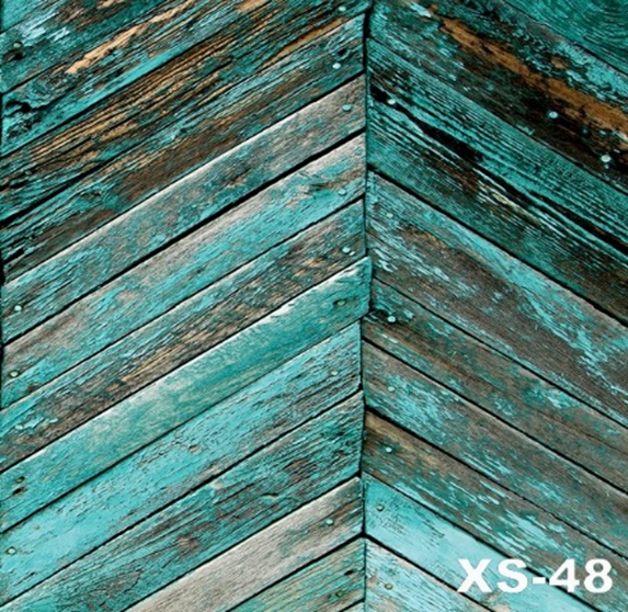 Turquoise Wood Photography Wallpaper - Crateen