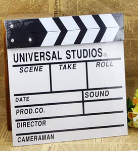 Photography Clapperboard