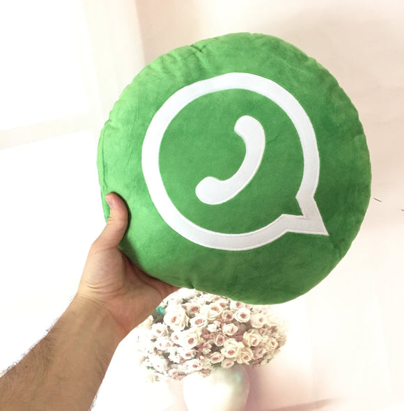 Whatsapp Icon Pillow