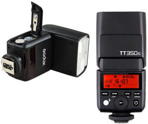 Godox TT350 C HSS TTL enabled mini flash for
