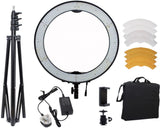 RL-650S Camera Photo/Video Dimmable Ring Video Light kit