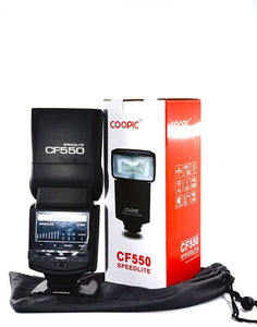 COOPIC CF550 Speedlite Flash