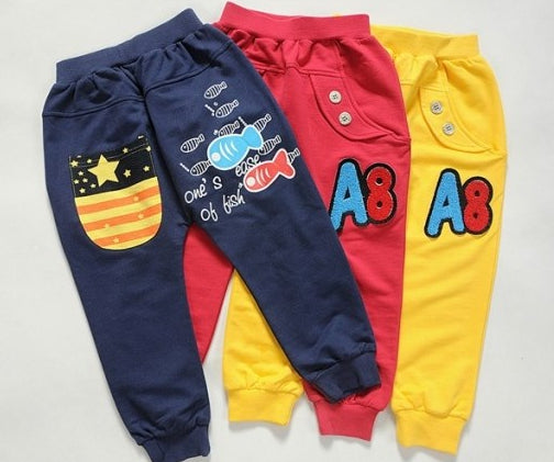 A8 Kids Blue Pants
