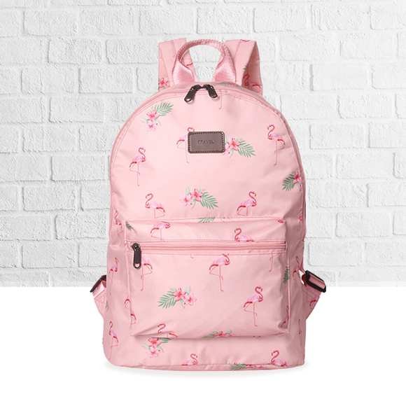 Large Space Printed Traveller Backpack