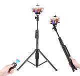 2 in 1 Portable Selfie Stick and Tripod with shutter