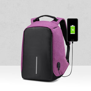 Multifunction Traveller Anti Theft Backpack - Pink