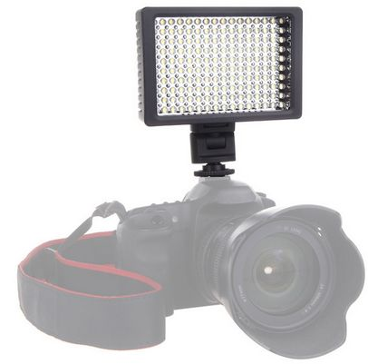 HD-160 160 LED Video Light Lamp 3200-5400K