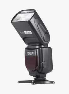Speedlite Universal On-Camera Flash With LCD Display Black