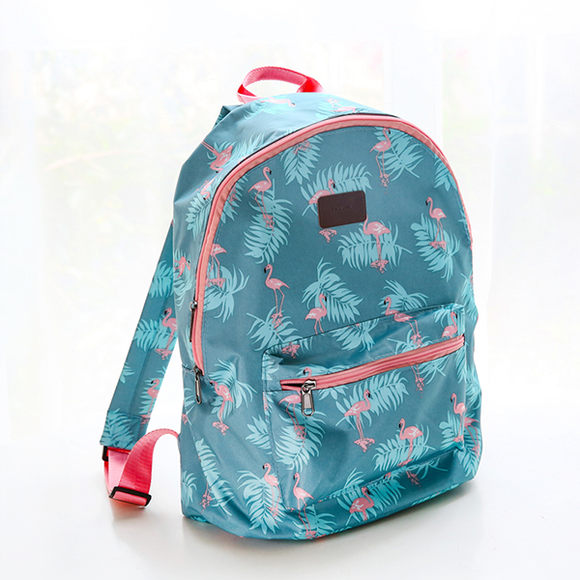 Swan Prints Duo Contrast Backpack