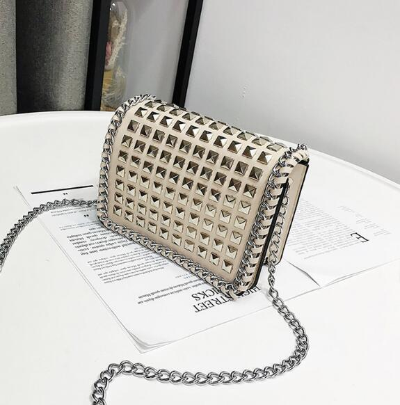 Modern Beige Women Handbags