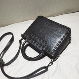 Black Square Women Handbags