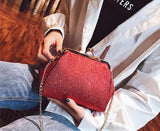 Shining Red Women Handbags
