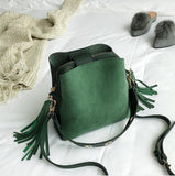 Sada Color Green Women Handbags