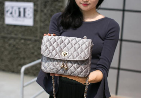 Silver Stylish Women Handbags