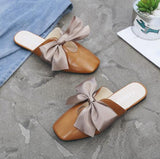 Brown Fyonka Flat Shoes