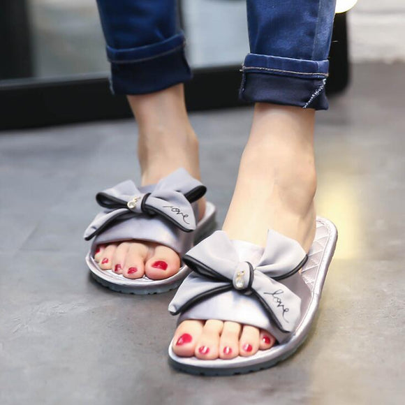 Silver Fyonka Flat Shoes