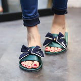 Green Fyonka Flat Shoes