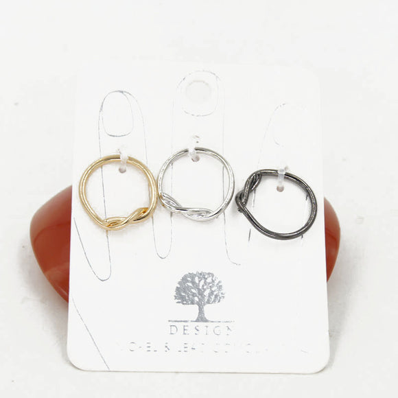 Set of 3 Soft Rings