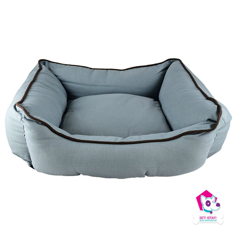 Cozy Bed - Lounger Bed Brown/Blue  37