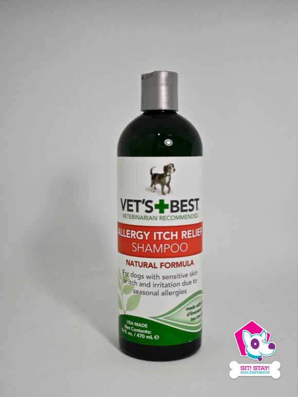 Vet´s + Best - Allergy Itch Relief Shampoo