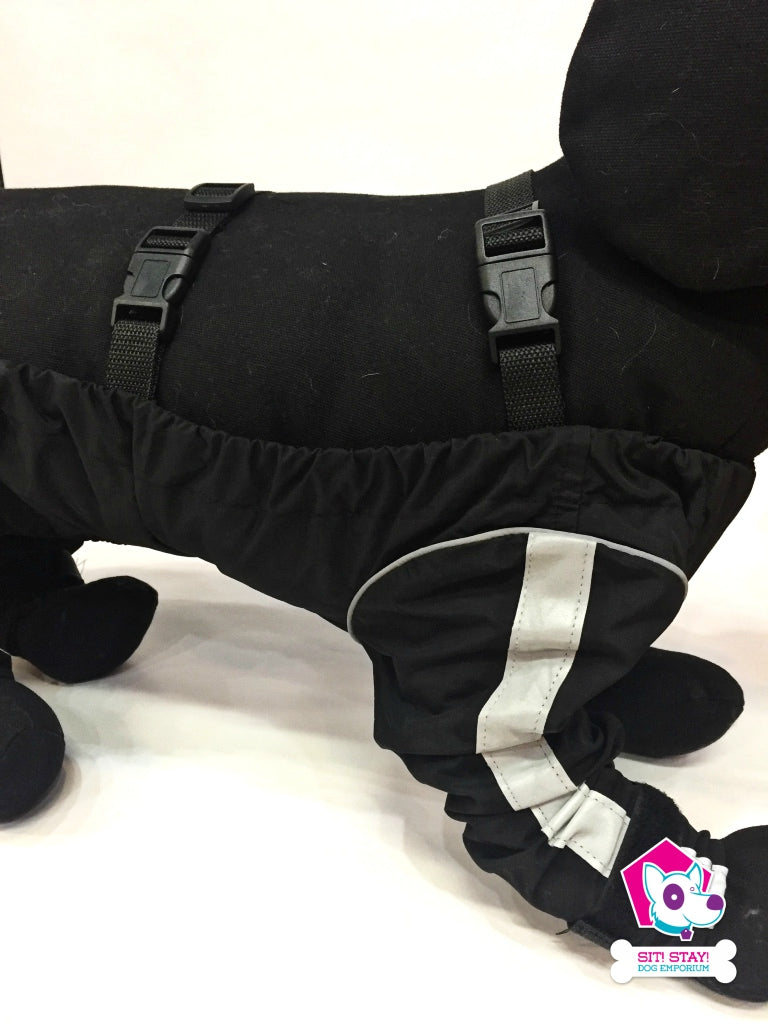 Bodyguard Protective All-Weather Dog Pants - Black