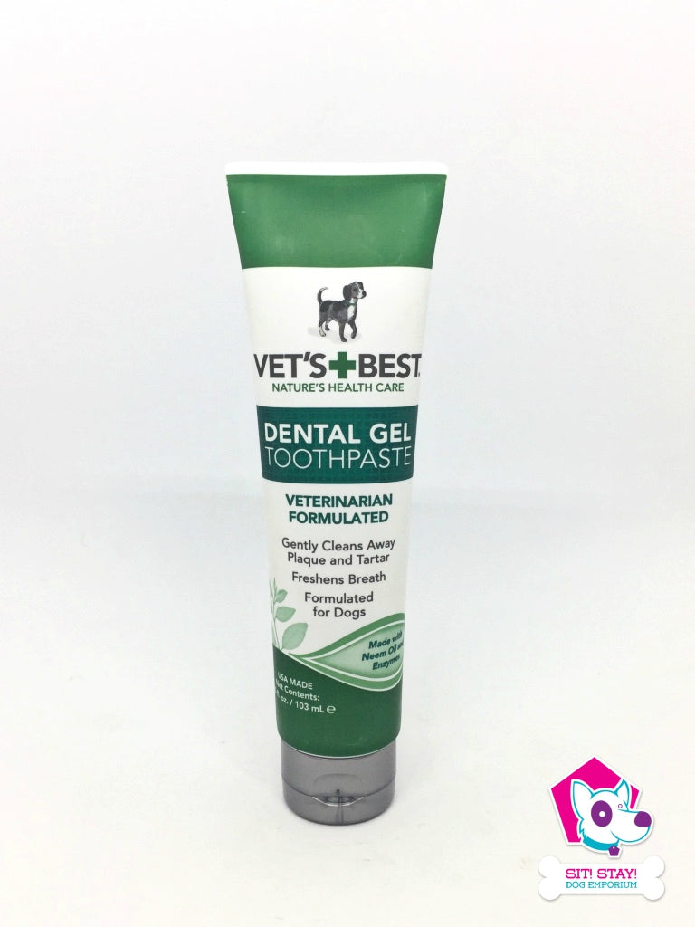 Vet's + Best Dental Gel Toothpaste