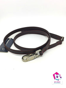 Flower Leash - Brown