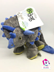Go Dog - Mini Frills Grey Dino