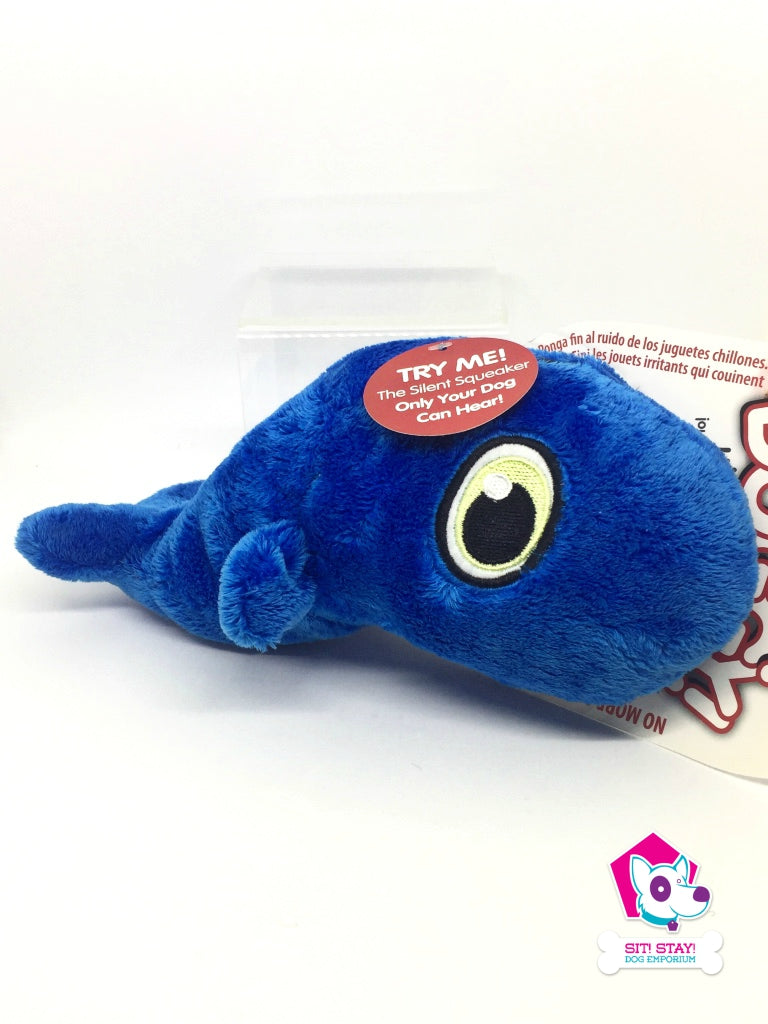 Hear Doggy Ultrasonic Toy - Blue Whale